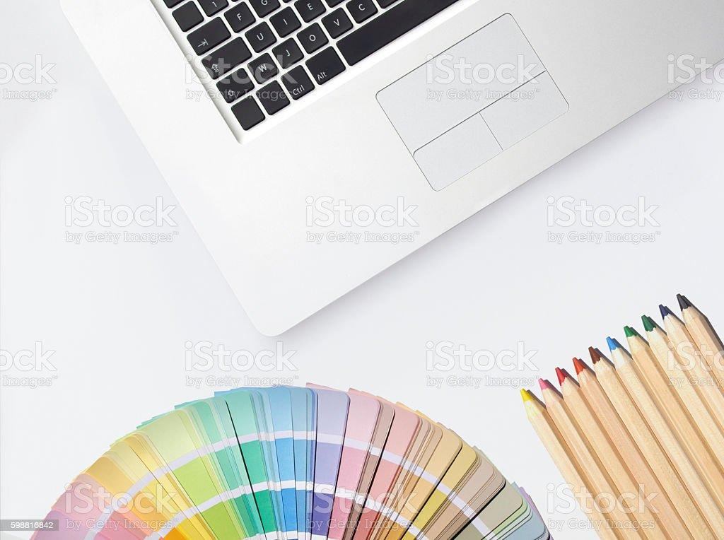 Designer-Schreibtisch – Foto