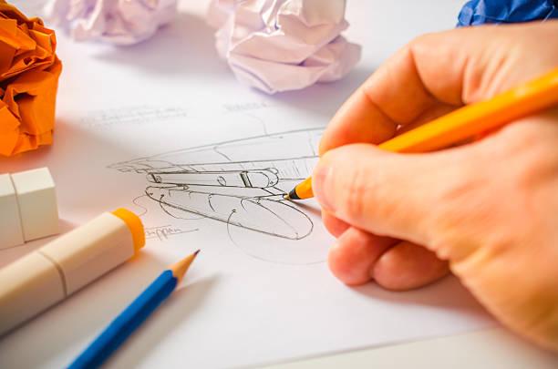 designer zeichnung - produktdesigner stock-fotos und bilder