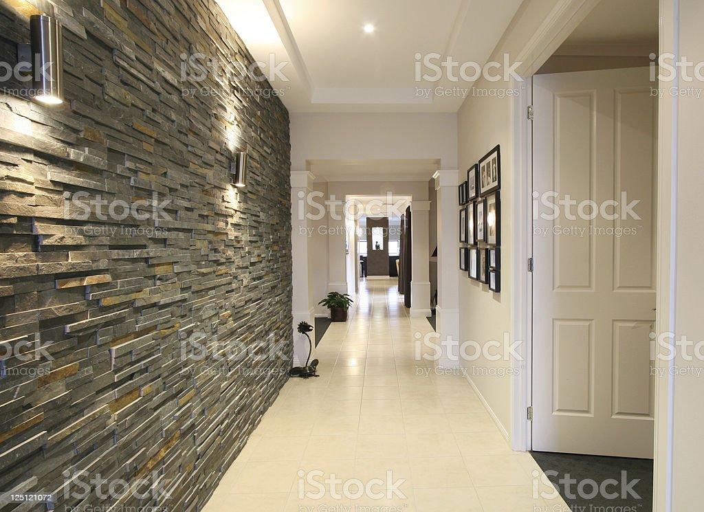 Designer Hallway stock photo