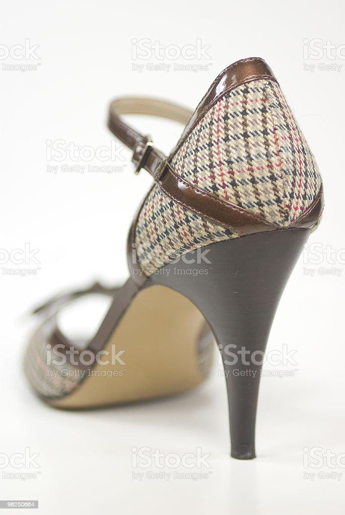 Designer High Heel Shoe royalty-free stock photo