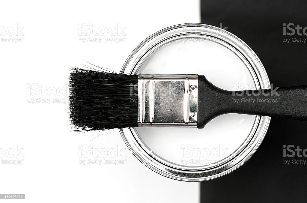 Designer Paint stock photo