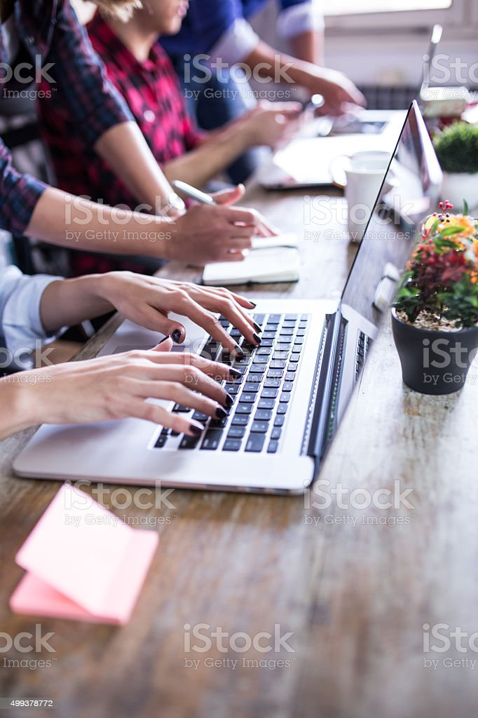 Designer Teamwork Brainstorming stock photo