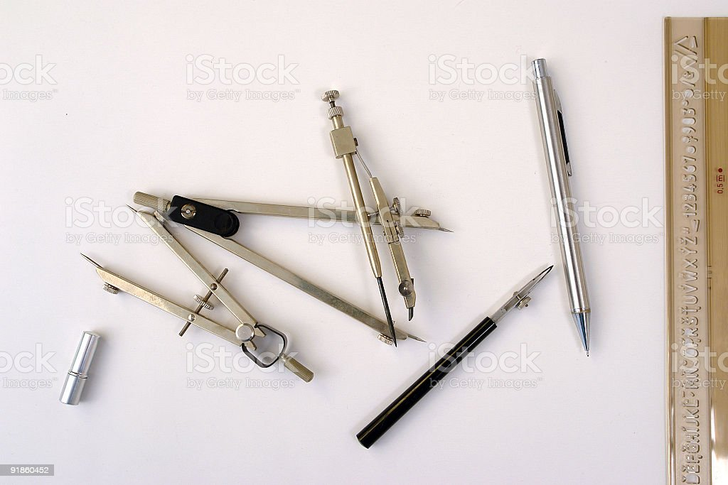 Designer tools royalty-free stock photo