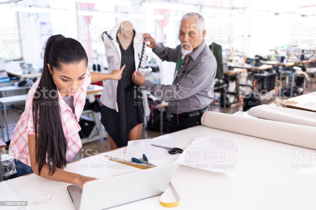 Designers In Chinese Fashion Studio Stock Photo Download Image Now Istock