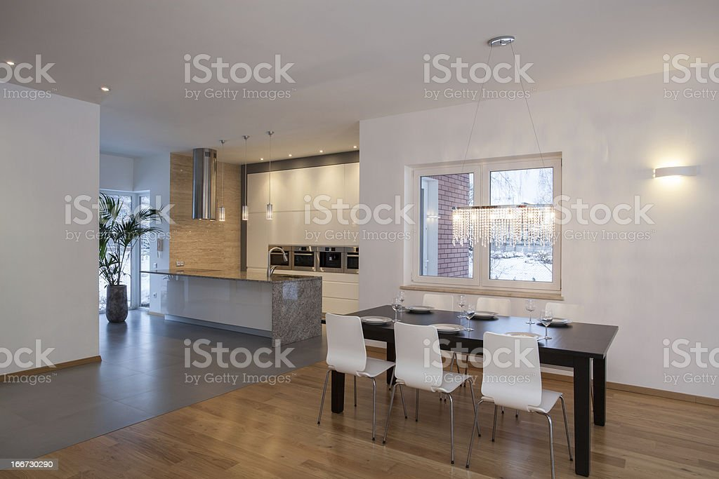 Designers interior - Modern house royalty-free stock photo