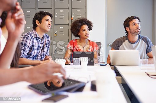 istock Designers Meeting To Discuss New Ideas 502862039