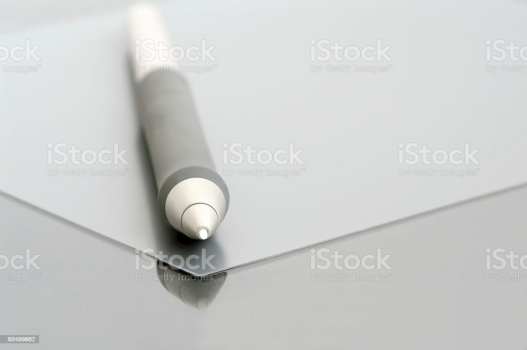 designer's pen royalty-free stock photo
