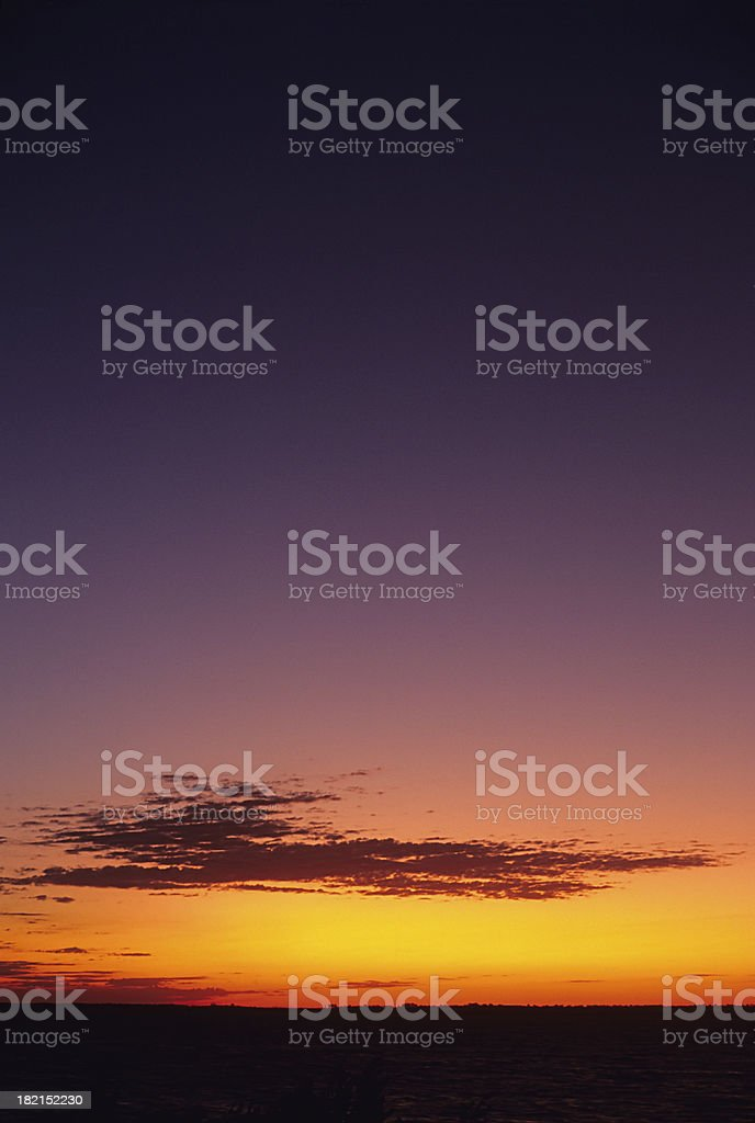 designer's sunset royalty-free stock photo