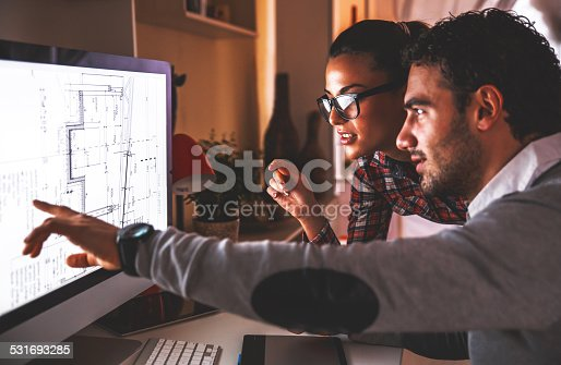 481265718 istock photo Designers working at home 531693285