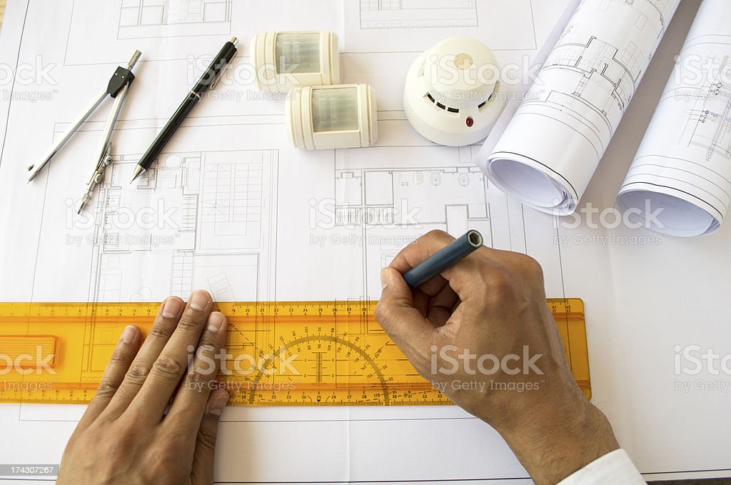 designing a safety system stock photo
