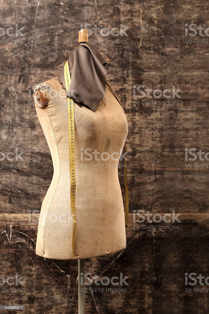 Designing clothes stock photo