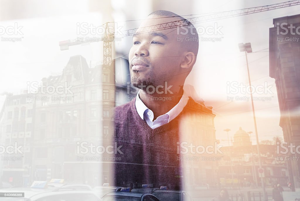 Designing tomorrow's cities stock photo