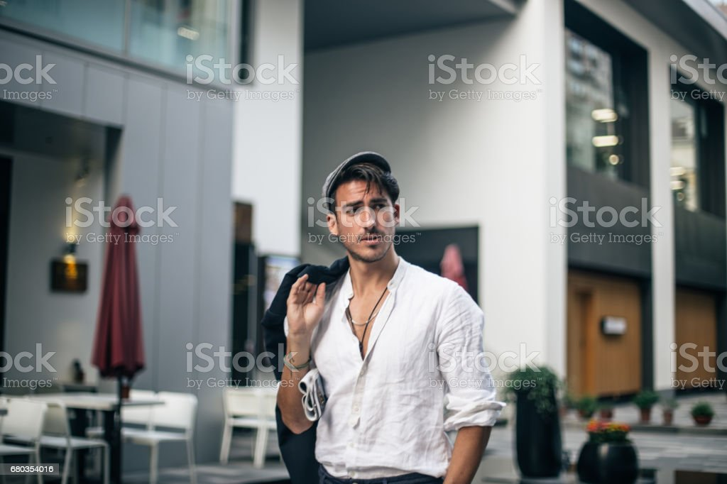 Desirable young man royalty-free stock photo
