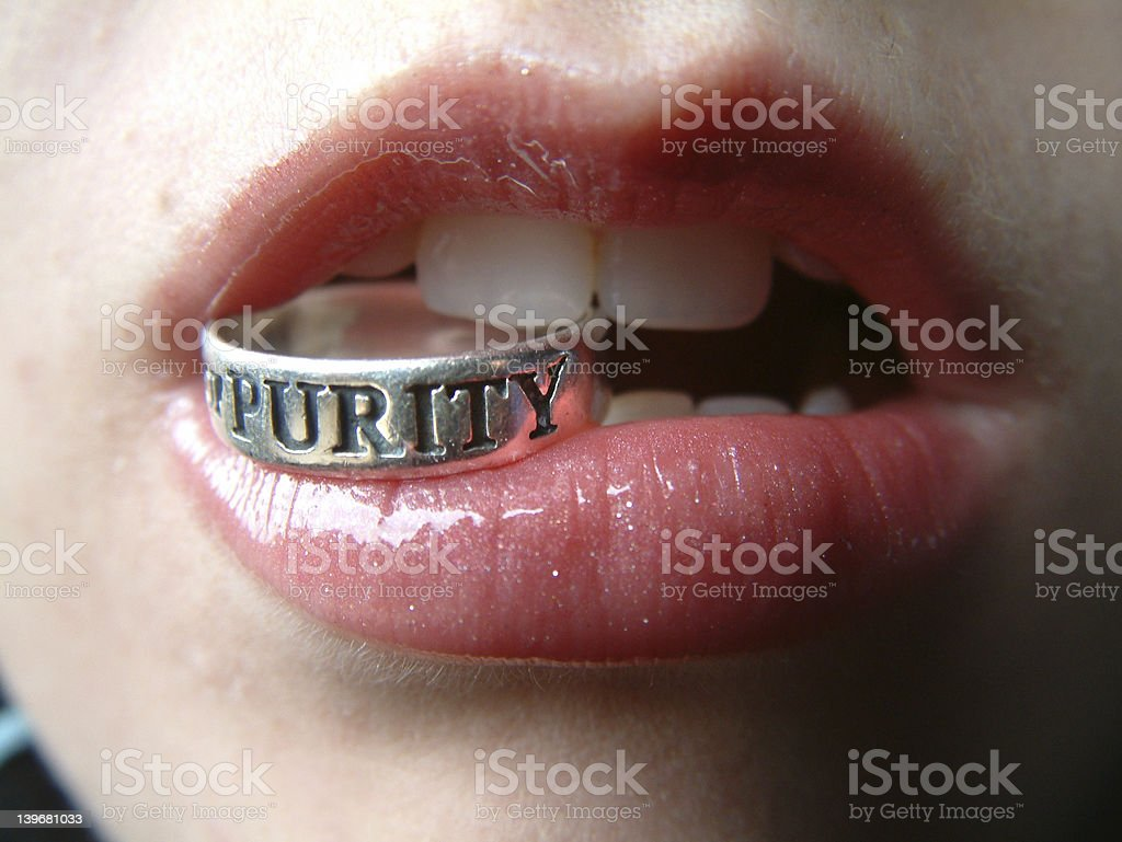 Desire Vs. Purity royalty-free stock photo