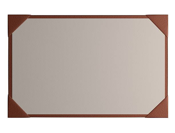 Desk Blotter An image of a desk blotter face on. blotter stock pictures, royalty-free photos & images