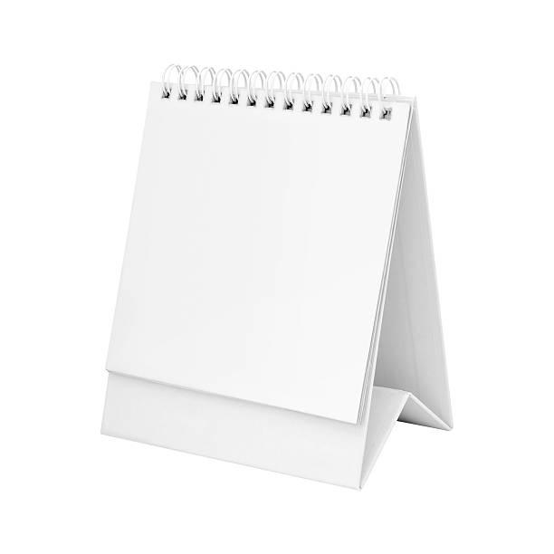 Desk calendar. stok fotoğrafı