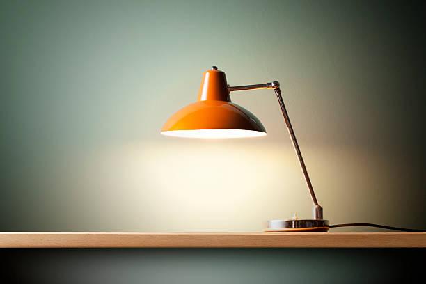 Lampada anglepoise - foto stock