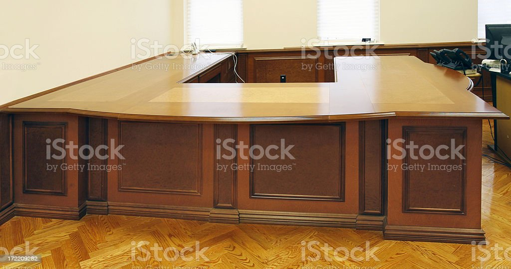 Desk royalty-free stock photo