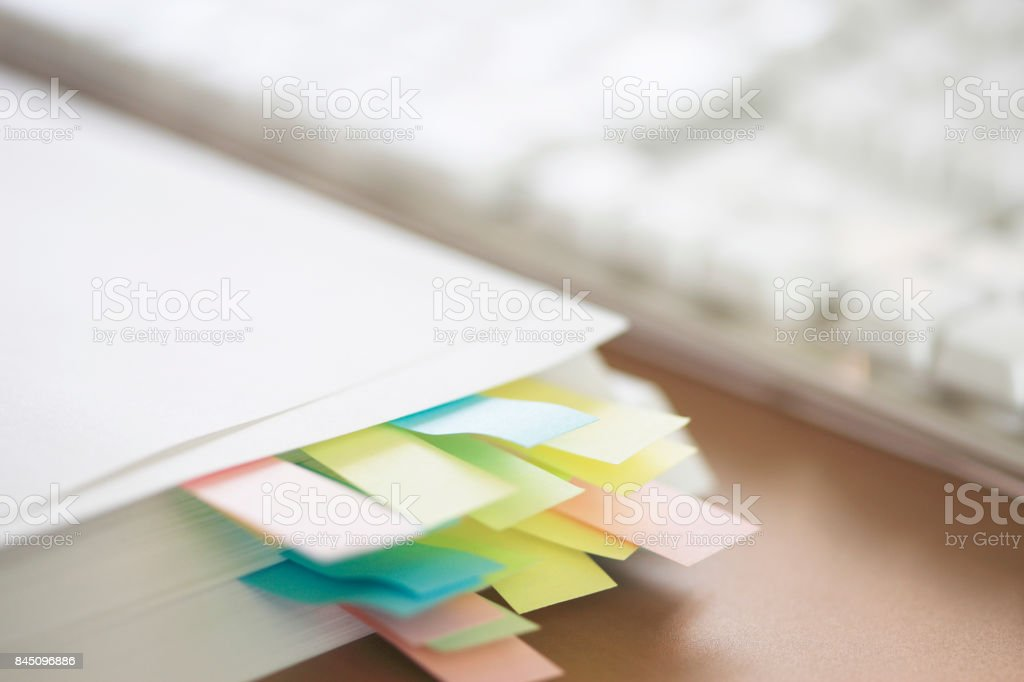 Escritorio - foto de stock