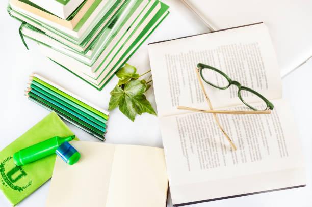 Schreibtisch-student – Foto