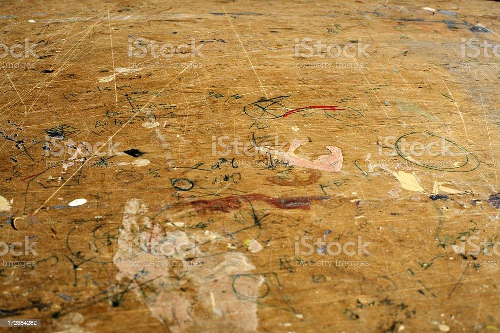 Desk Texture royalty-free stock photo