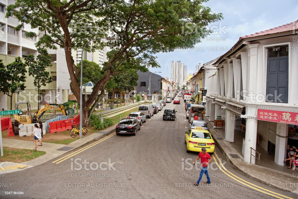 Remarkable Desker Rd On The Street Pedestrians And Cars Stock Photo Download Free Architecture Designs Scobabritishbridgeorg