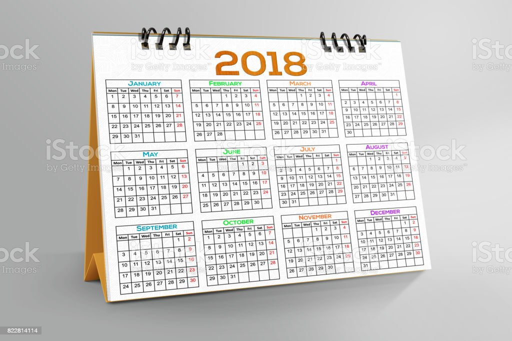 Desktop-Kalenderdesign 2018 – Foto