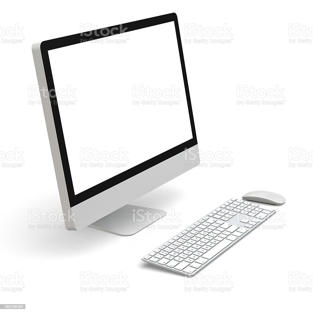 Desktop-computer – Foto
