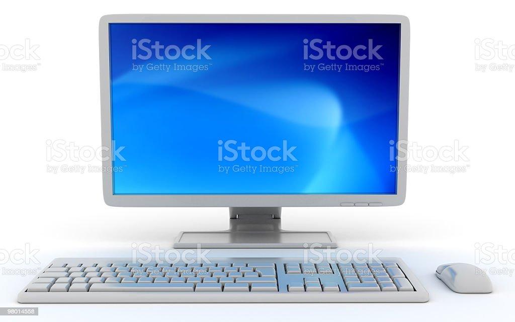 Computer Desktop foto stock royalty-free