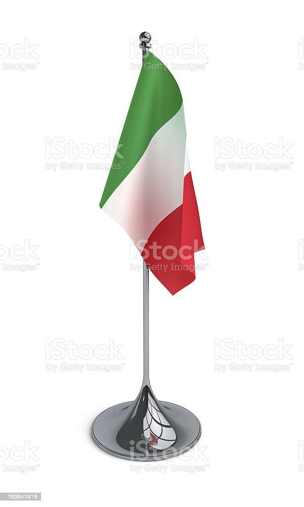 Sobremesa bandera de Italia - foto de stock