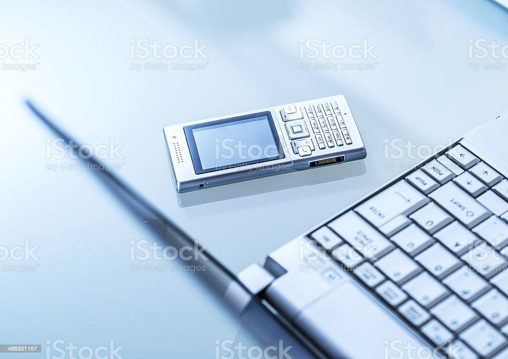 Desktop Gadgets royalty-free stock photo