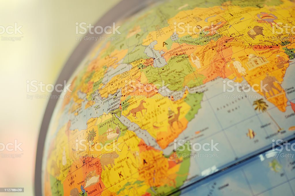 Desktop Globe royalty-free stock photo
