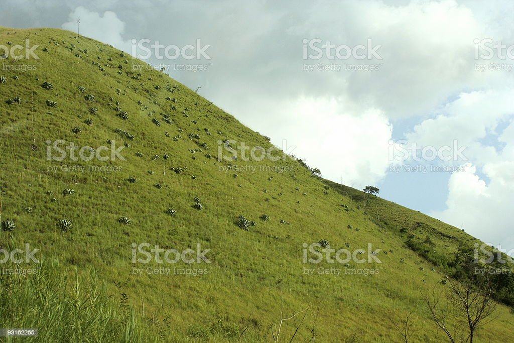 Desktop Hill stock photo