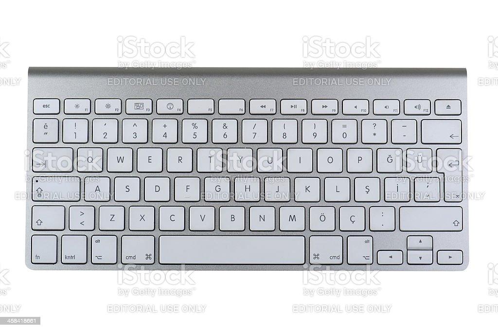 Desktop keyboard royalty-free stock photo