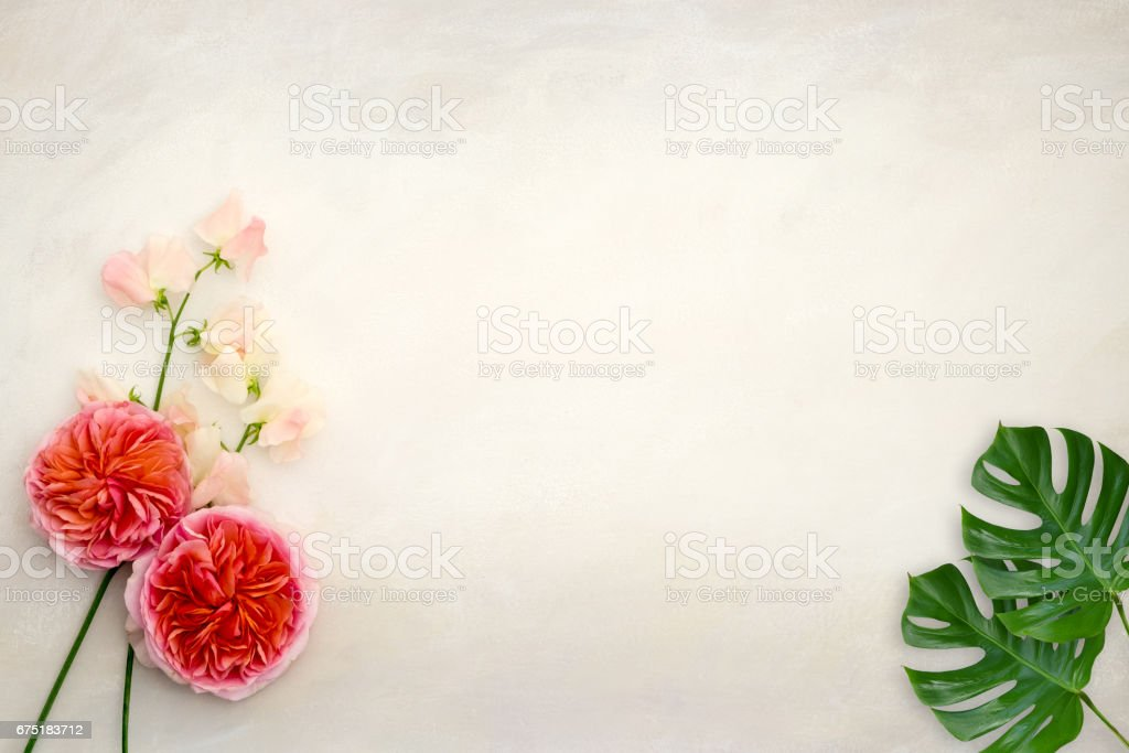 Desktop mockup stock photo
