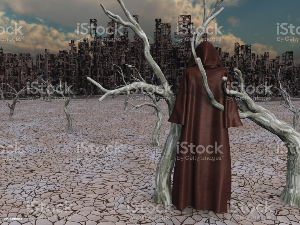 Desolation stock photo
