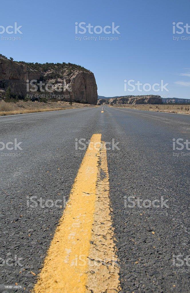 Desolation Road stock photo