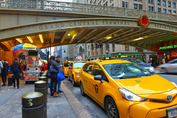 Despite the rapid rise of Uber and Lyft and the commensurate drop in Medallion costs, the Yellow Taxi remains ubiquitous on the city streets of Manhattan. Despite the rapid rise of Uber and Lyft and the commensurate drop in Medallion costs, the Yellow Taxi remains ubiquitous on the city streets of Manhattan. despite stock pictures, royalty-free photos & images