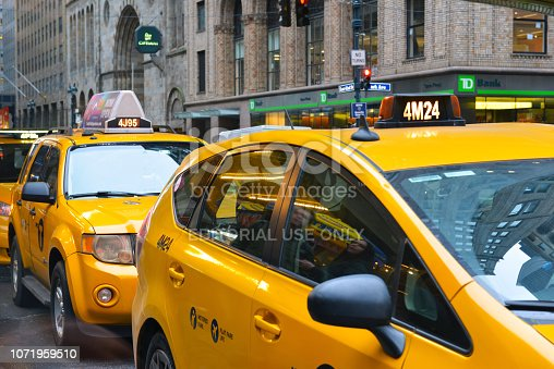 Despite the rapid rise of Uber and Lyft and the commensurate drop in Medallion costs, the Yellow Taxi remains ubiquitous on the city streets of Manhattan.