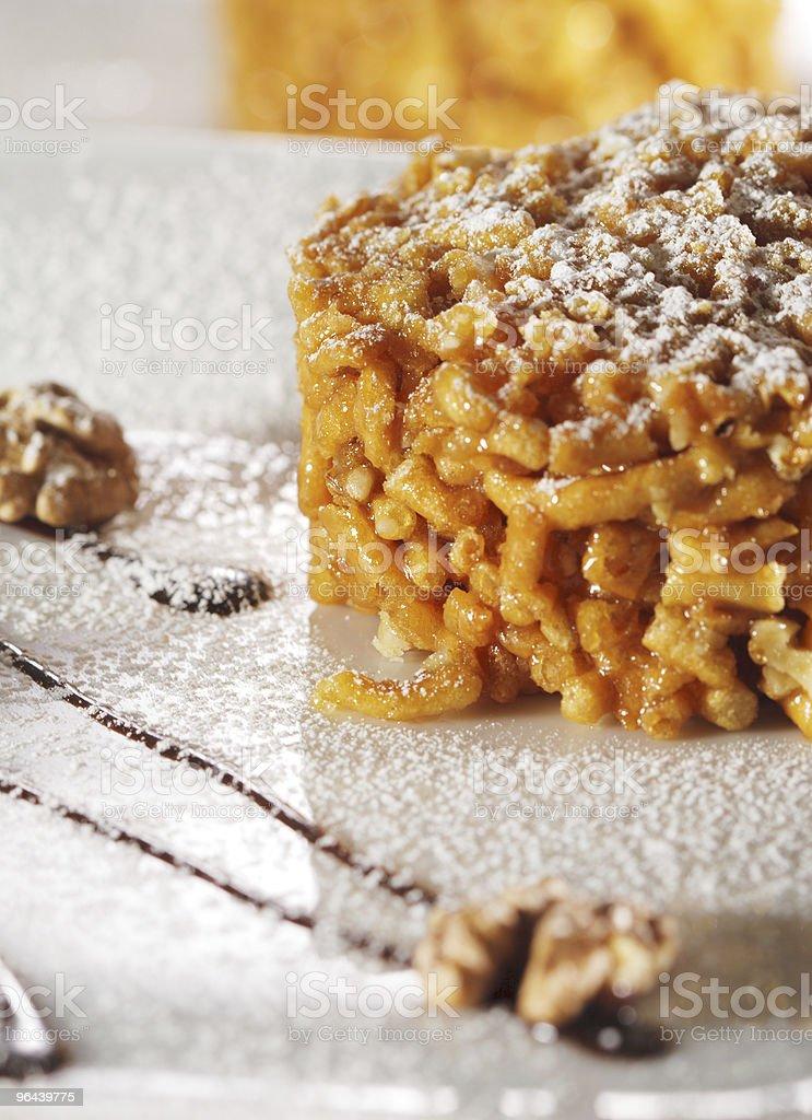 Dessert - Chak-Chak stock photo
