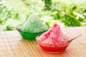 デザートに日本の夏