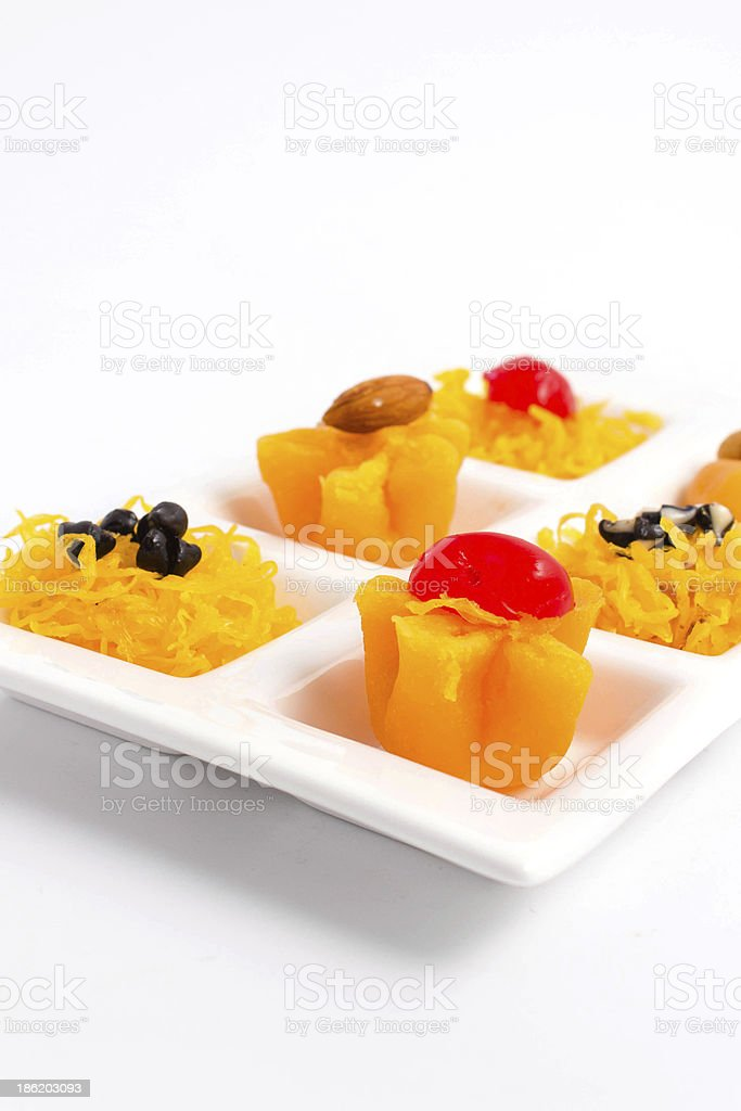 Dessert of Thailand stock photo