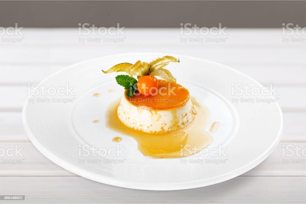 Sobremesa. - foto de acervo