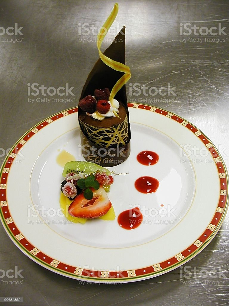 2004 Dessert royalty-free stock photo