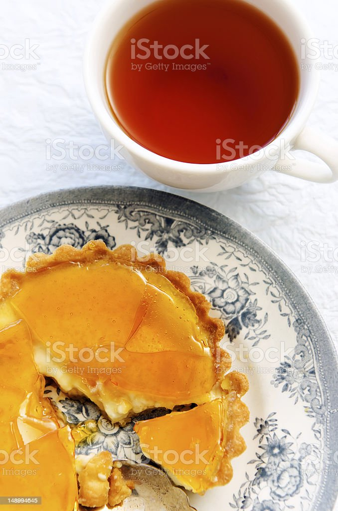 Dessert tart royalty-free stock photo