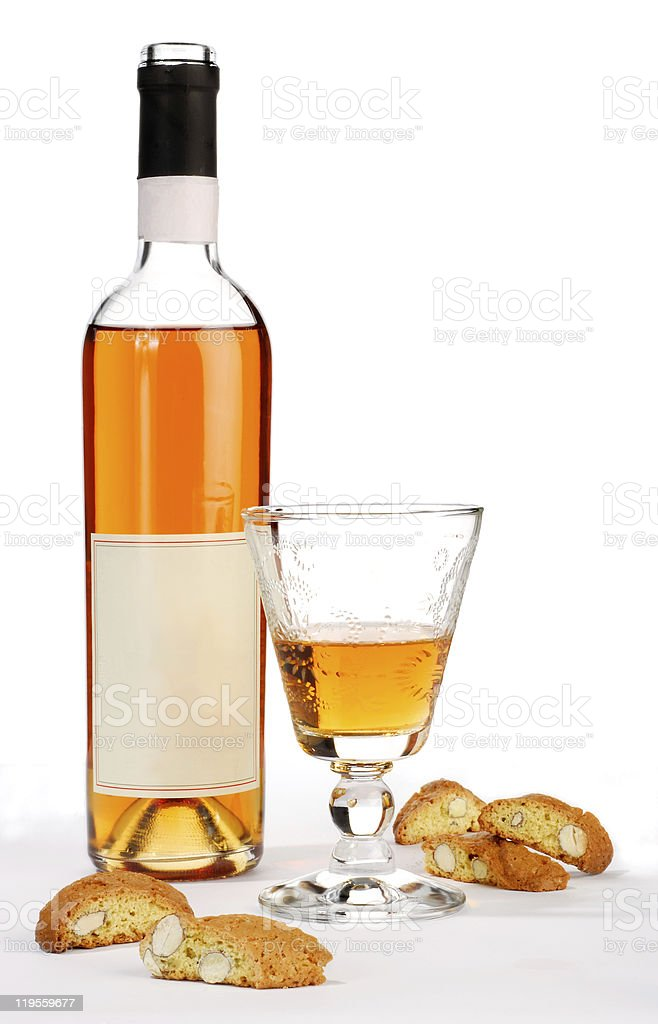dessert wine royalty-free stock photo
