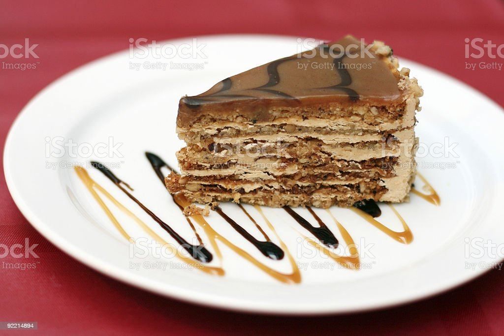 dessert.fancy cake royalty-free stock photo