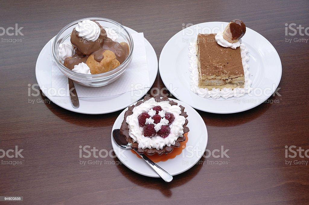 Desserts royalty-free stock photo