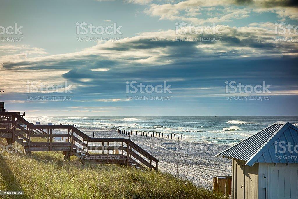 destin florida beach scenes stock photo