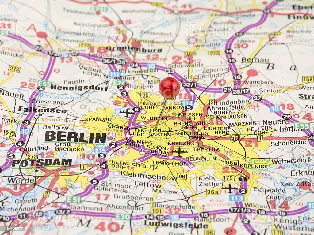 Royalty Free Germany Road Map Pictures Images and Stock Photos iStock